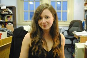 Paula Burleigh. Photo credit to Ayla Safran, '15.