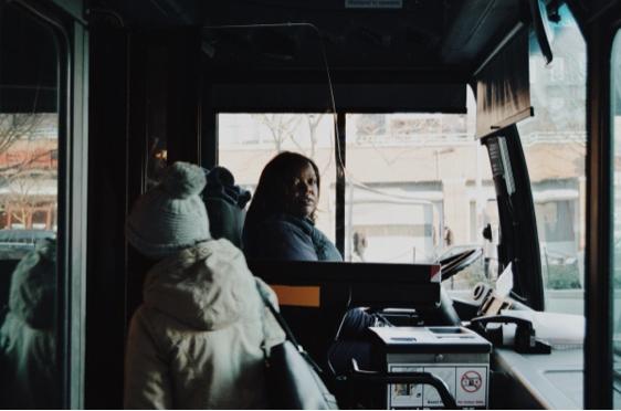 Maye, an M21 bus driver (photo credit_ Tanzim Ahmed, '18)