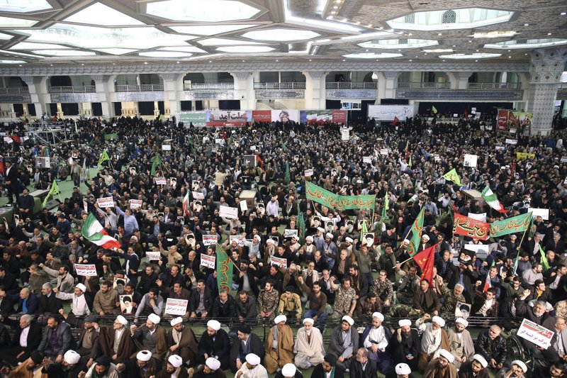 A small snapshot of the recent rise in Iranian protests (Photo Credit_ Associated Press)