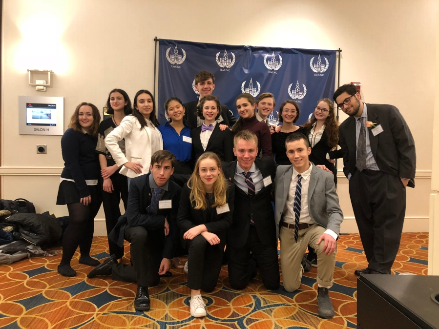 BHSEC_s Model UN team at the 2018 Ivy League Model United Nations Conference (Photo Credit_ Dr. Clark)